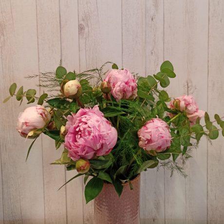 Saison Pivoines roses