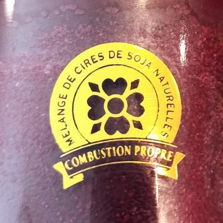 Label Cire de Soja